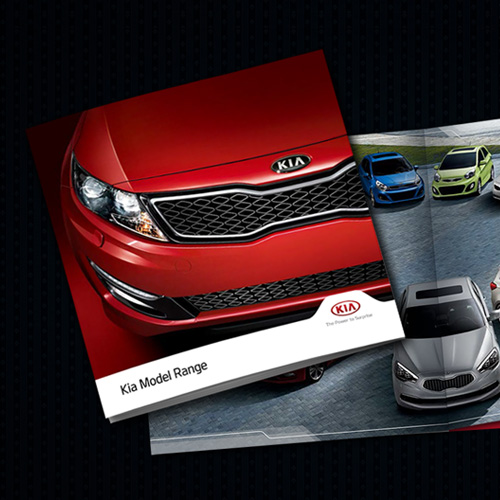 KIA Motors  Catalog Design